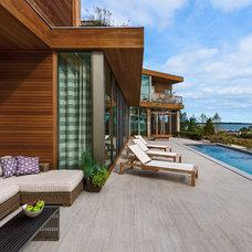Contemporary Patio by Blaze Makoid Architecture