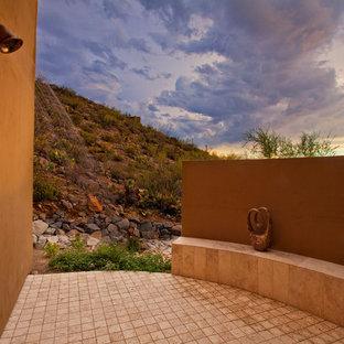 Стильный дизайн: летний душ в средиземноморском стиле - последний тренд