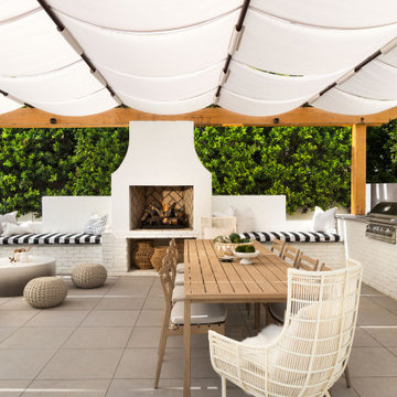 Masterfully Designed Outdoor Living Space in Arcadia