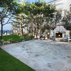 Beach Style Patio by James Glover Residential & Interior Design