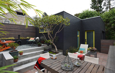A Hip Backyard Saves on Water and Splurges on Style