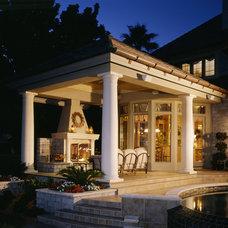 Traditional Patio by Interior Design Concepts, Inc.