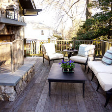 Craftsman Patio by Rill Architects