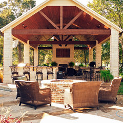 traditional patio by The Good Life Outdoor Living