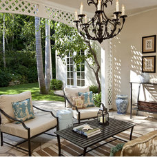 Traditional Patio by Cynthia Marks - Interiors