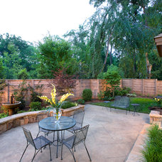 Traditional Patio by LS3P | Neal Prince Studio