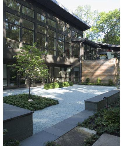 Modern Patio by McIntosh Poris Associates