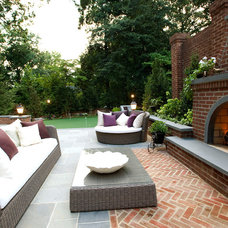 Traditional Patio by Colao & Peter Landscape Architecture