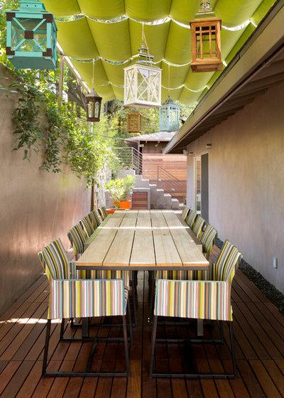 Contemporary Patio by Go Green Construction, Inc