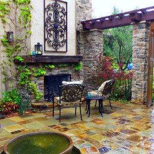 Tuscan patio photo in Orange County