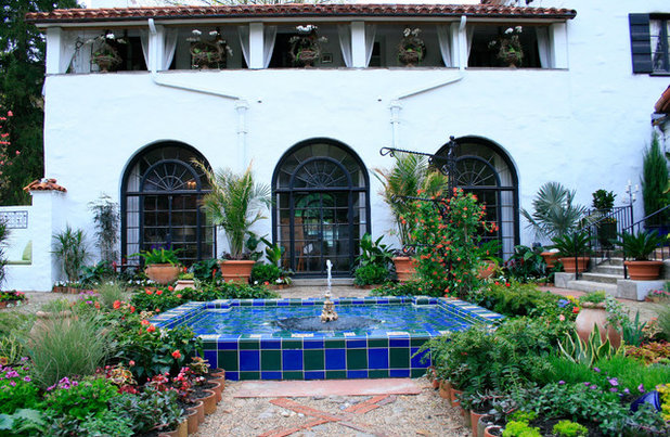 Mediterranean Patio by The Todd Group