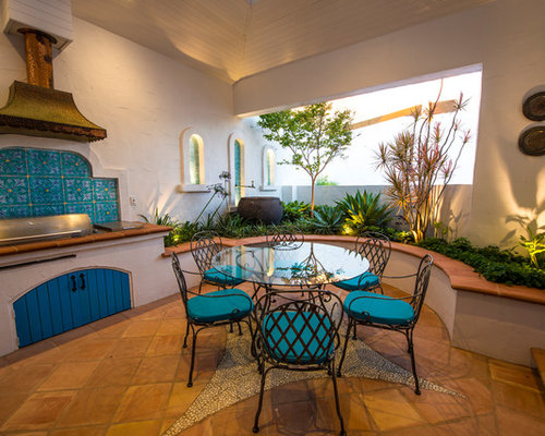 Mediterranean Courtyard Ideas Pictures Remodel And Decor