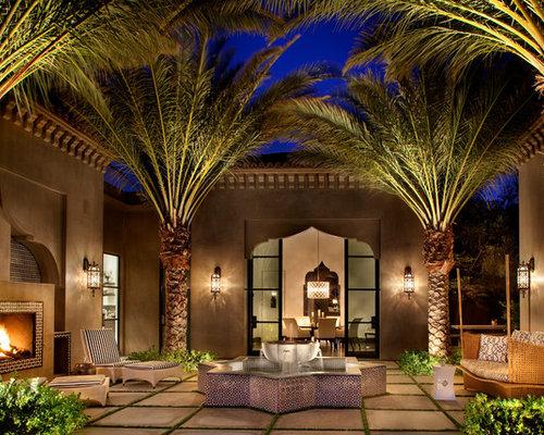 Moroccan Courtyard Houzz