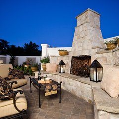 mediterranean patio by JD Design