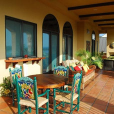 Mediterranean Patio by Clay Imports