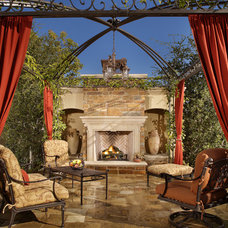 Mediterranean Patio by FireRock Products