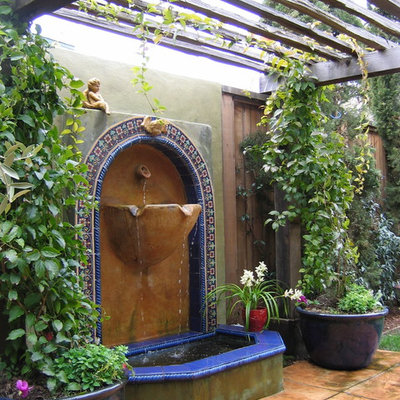 Inspiration for a mediterranean patio remodel in Other