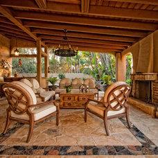 Mediterranean Patio by JD Design Photography