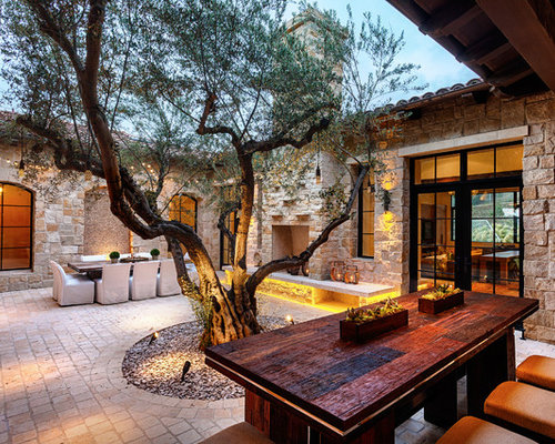 Houzz Home Design Ideas: Enclosed Courtyard Home Design Ideas, Pictures, Remodel