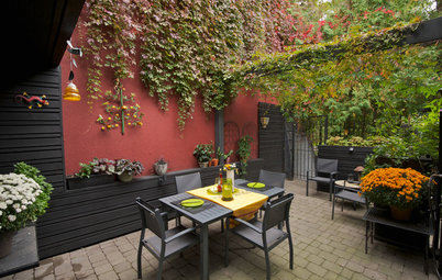 Backyard Ideas 10 Ideas For Styling Your Patio For Outdoor Dining This Fall