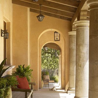 Patio - mediterranean patio idea in San Francisco
