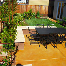 Mediterranean Patio by Past the Gate