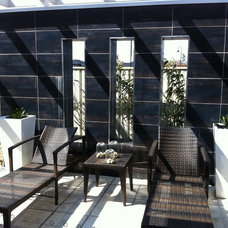 Modern Patio by Landscape And Architectural Design Products PL