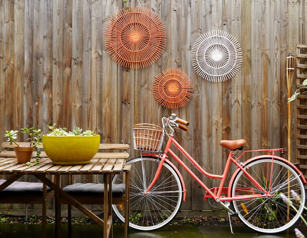 Eclectic Patio by Kate Hansen Photography