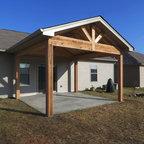 Goshen ky fence deck and pergola build rustic terrace for 64 rustic terrace bristol ct