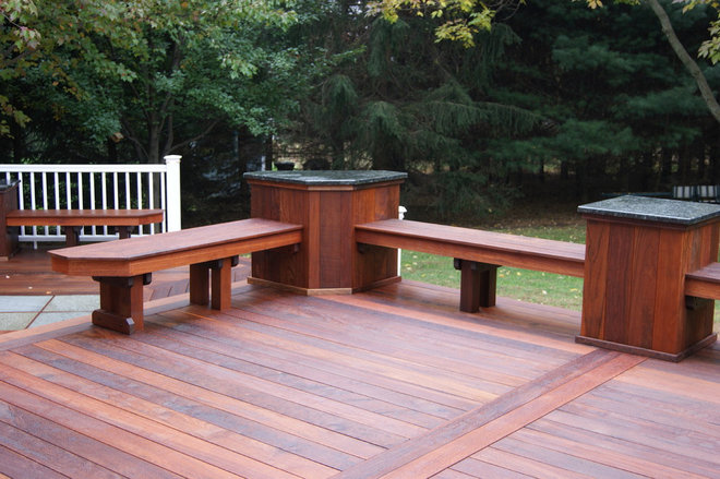 Traditional Patio by Deck Remodelers.com
