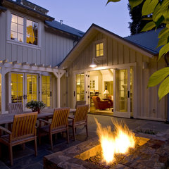 traditional patio by Arcanum Architecture