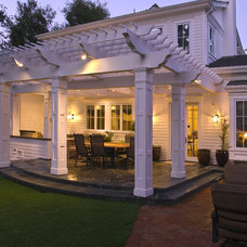 Traditional Patio by Kikuchi + Kankel Design Group