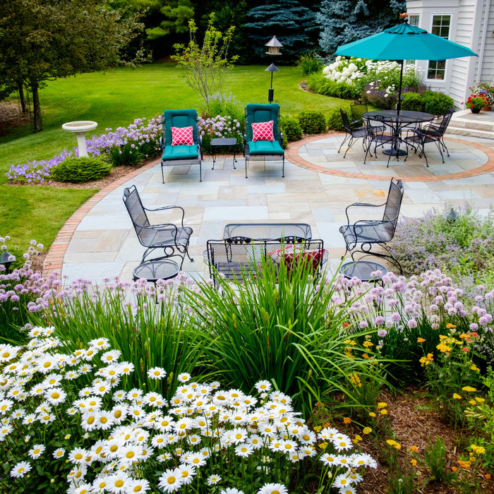 Traditional Backyard Landscape Renovation - Mequon