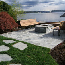 Modern Patio by Sublime Garden Design, LLC