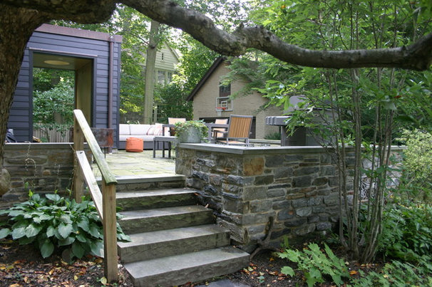 Traditional Patio by Donald Pell - Gardens