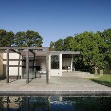 Contemporary Patio by Robson Rak Architects Pty Ltd
