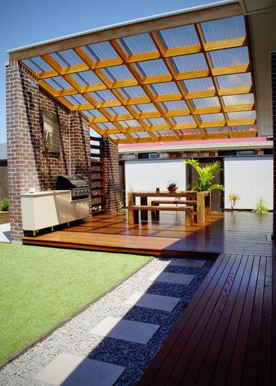 The translucent trend of polycarbonate panels for Architecture design studio pty ltd