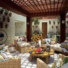 Eclectic Patio by Magni Design