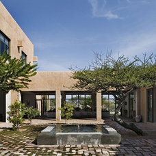 Southwestern Exterior by David Howell Design
