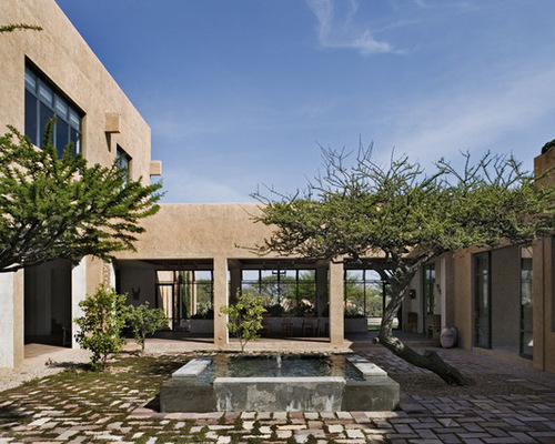 Courtyard House Designs. View In Gallery Inner Courtyard House ...