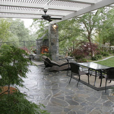 Traditional Patio by Michael Glassman & Associates