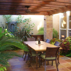 Contemporary Patio by Michael Glassman & Associates