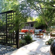 asian patio by Michael Glassman & Associates