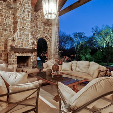 Mediterranean Patio by MICHAEL MOLTHAN LUXURY HOMES