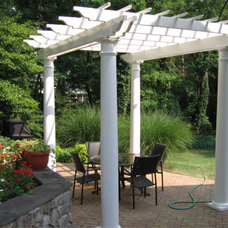 Traditional Patio by MID ATLANTIC DECK & FENCE COMPANY