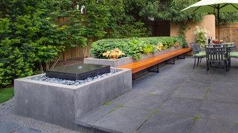 Mid Century Backyard Renovation - Raleigh Hills, OR