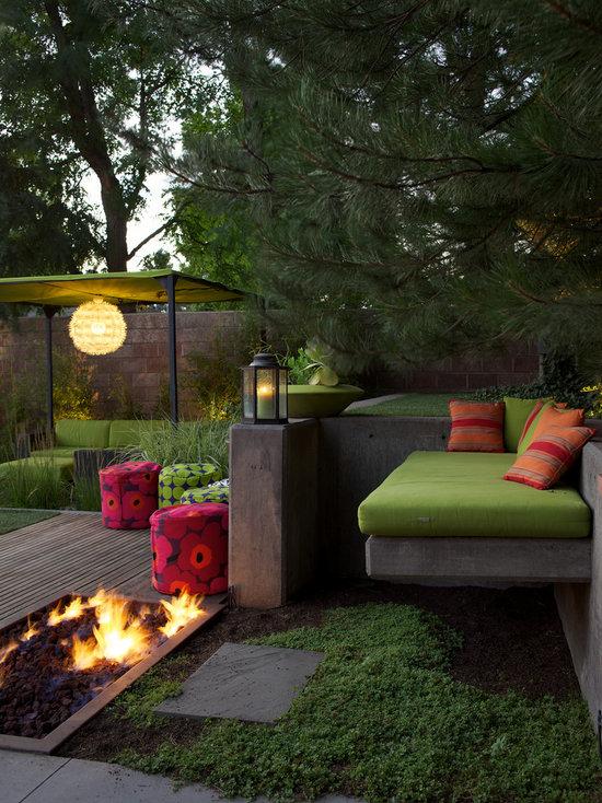 Green Outdoor Cushions