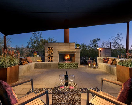 Midcentury Patio Design Ideas, Renovations & Photos with ...