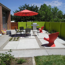 Modern Patio by Red Twig Studio