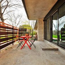 Midcentury Patio by T.A.S Construction